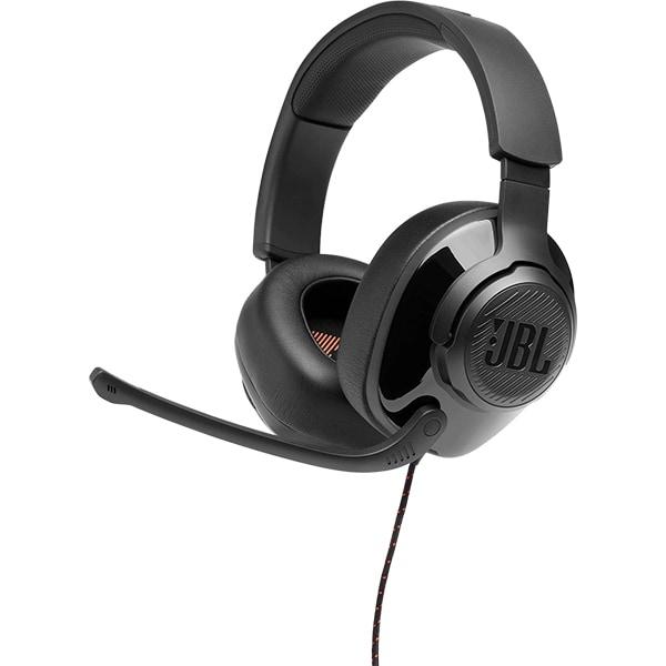 Casti Gaming JBL Quantum 300, multiplatforma, 3.5mm, USB, negru