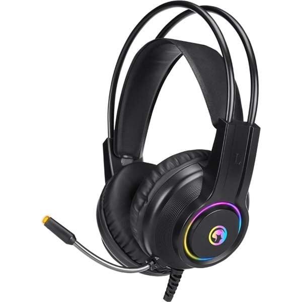 Casti Gaming MARVO HG8935, stereo, USB, negru