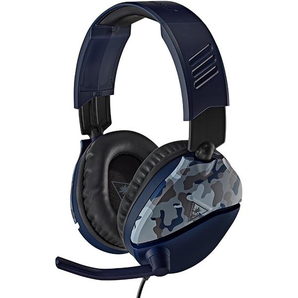 Casti Gaming TURTLE BEACH Recon 70, multiplatforma, 3.5mm, albastru