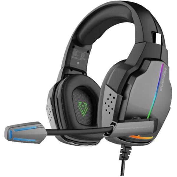 Casti Gaming VERTUX Havana, Stereo, USB, 3.5mm, RGB, negru