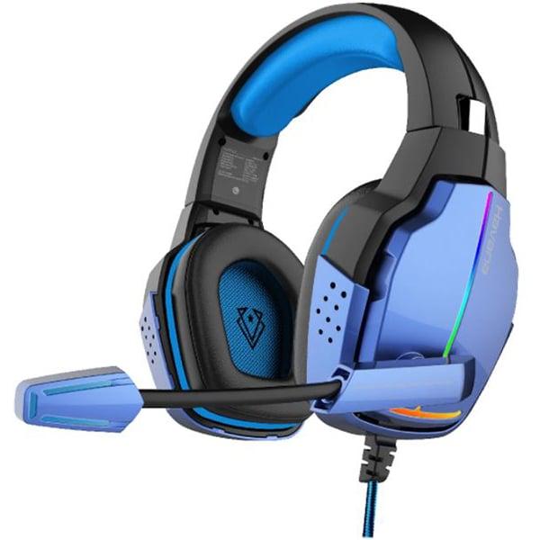 Casti Gaming VERTUX Havana, Stereo, USB, 3.5mm, RGB, albastru