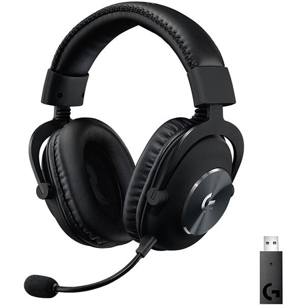 Casti Gaming Wireless LOGITECH Pro X LIGHTSPEED, 7.1 surround, multiplatforma, negru