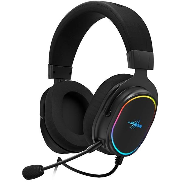 Casti Gaming HAMA uRage SoundZ 800 7.1, 7.1 surround, USB, negru