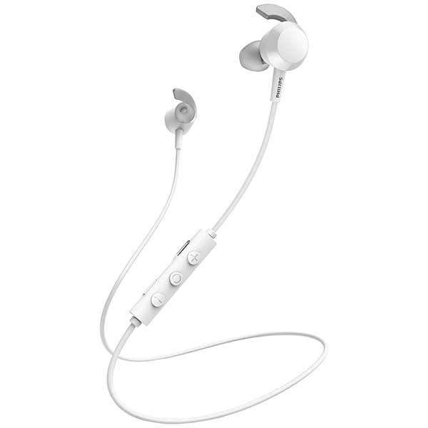 Casti PHILIPS TAE4205WT/00, Bluetooth, In-ear, Microfon, alb