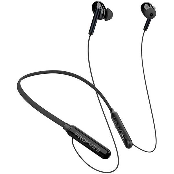 Casti PROMATE Quartz, Bluetooth, In-Ear, Microfon, negru