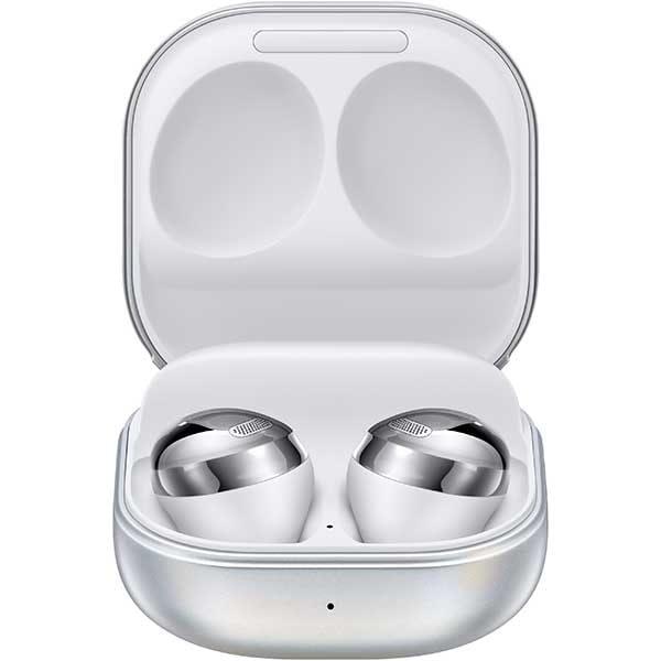 Casti SAMSUNG Galaxy Buds Pro, True Wireless, Bluetooth, In-Ear, Microfon, Carcasa Incarcare Wireless, Noise Cancelling, Phantom Silver