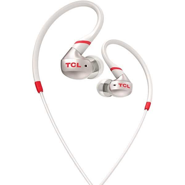 Casti TCL Crimson ACTV100WT-EU, Cu fir, In-ear, Microfon, Crimson White