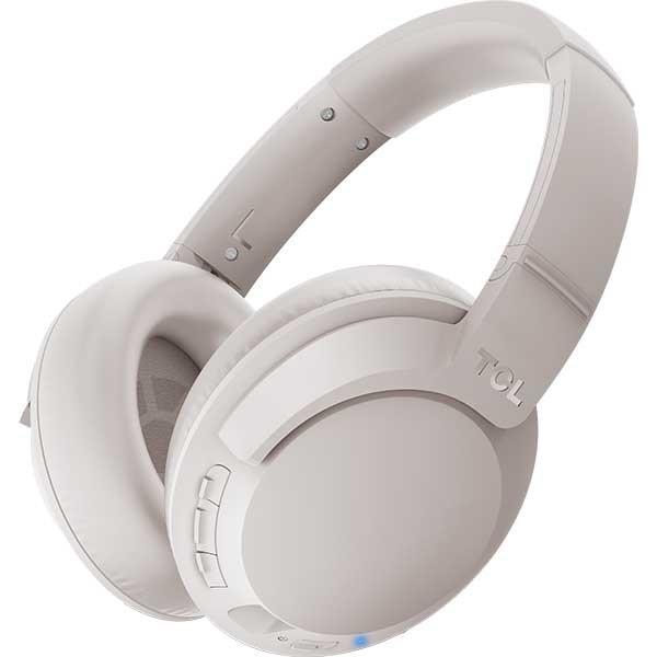 Casti TCL ELIT400BTWT-EU, Bluetooth, Over-ear, Microfon, Cement Gray