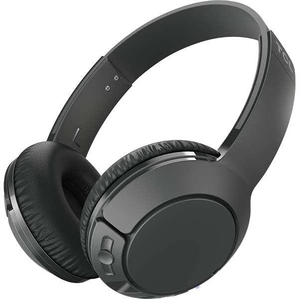 Casti TCL MTRO200BTBK-EU, Bluetooth, On-ear, Microfon, Shadow Black