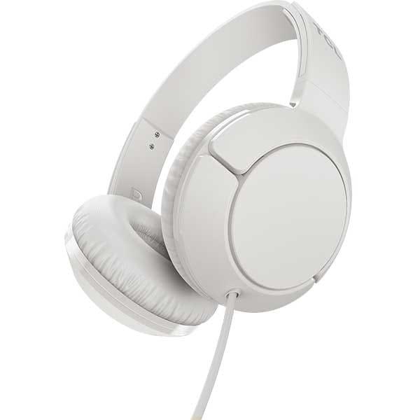 Casti TCL MTRO200WT-EU, Cu fir, On-ear, Microfon, Ash White