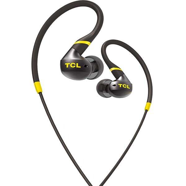 Casti TCL Monza ACTV100BK-EU, Cu fir, In-ear, Microfon, Monza Black