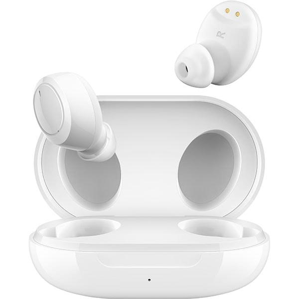 Casti OPPO Enco W11, True Wireless, Bluetooth, In-Ear, Microfon, alb
