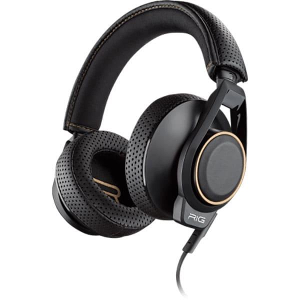 Casti gaming PLANTRONICS Rig 600 Dolby Atmos, Noise cancelling, Binaural, Laptop/PC, 3.5mm, negru