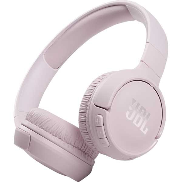 Casti JBL Tune 510BT, Bluetooth, On-ear, Microfon, roz