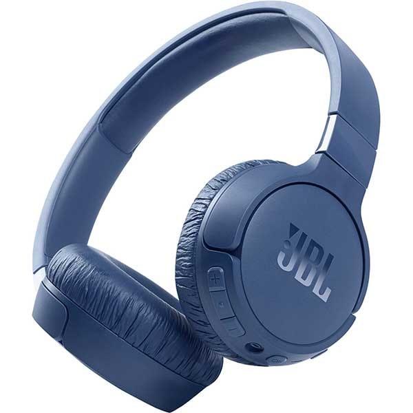 Casti JBL Tune 660NC, Bluetooth, On-ear, Microfon, Noise Cancelling, albastru