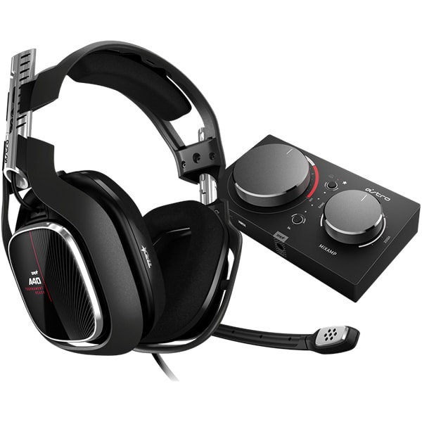 Casti Gaming ASTRO A40 TR, surround, 3.5 mm, negru + MixAmp Pro TR Xbox One