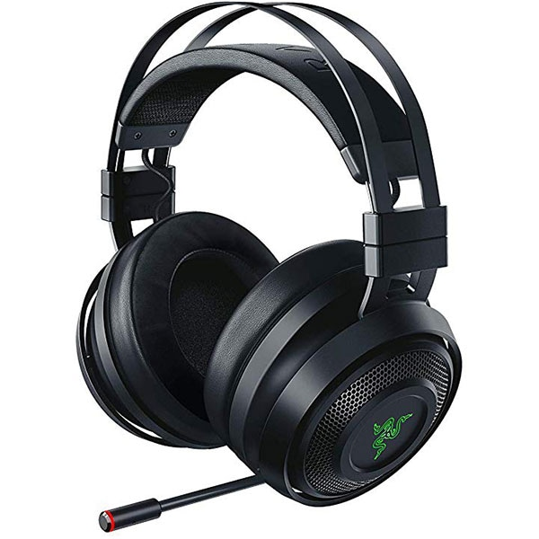Casti Gaming Wireless RAZER Nari, stereo, multiplatforma, dongle 2.4Ghz, 3.5mm, negru