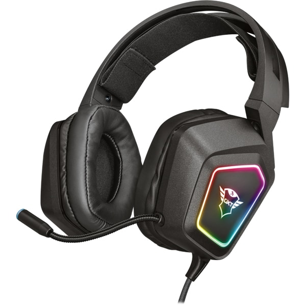 Casti Gaming TRUST GXT 450 Blizz, 7.1 surround, USB, negru