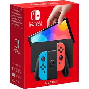 Consola NINTENDO Switch OLED (Joy-Con Neon Red/Neon Blue)