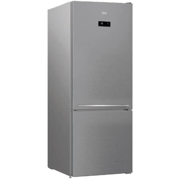 Combina frigorifica BEKO RCNE560E30ZXB, NeoFrost, 501 l, H 192 cm, Clasa A++, argintiu