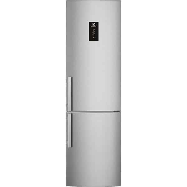 Combina frigorifica ELECTROLUX EN3790MFX, Frost free, 319 l, H 200.9 cm, Clasa A++, inox