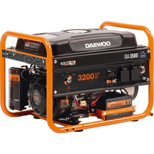 Generator electric DAEWOO GDK2800, 2500W, 4 timpi, benzina, autonomie 8h
