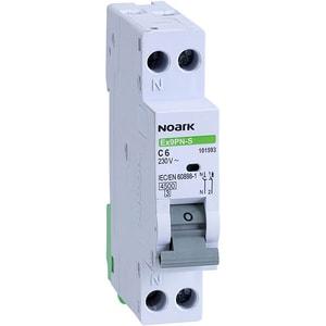 Siguranta automata modulara NOARK 101593, 1P + N, 6A, curba C