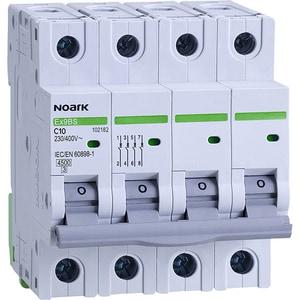 Siguranta automata modulara NOARK 102182, 3P + N, 10A, curba C