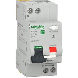 Siguranta automata diferentiala SCHNEIDER EZ9D62610, 1P + ND, 10A, curba C