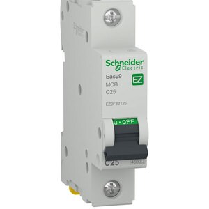 Siguranta automata modulara SCHNEIDER EZ9F32125, 1P, 25A, curba C