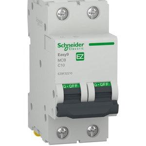 Siguranta automata modulara SCHNEIDER EZ9F32210, 2P, 10A, curba C