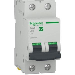 Siguranta automata modulara SCHNEIDER EZ9F32225, 2P, 25A, curba C