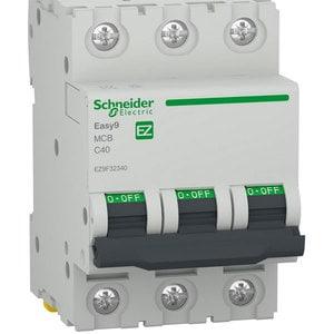 Siguranta automata modulara SCHNEIDER EZ9F32340, 3P, 40A, curba C