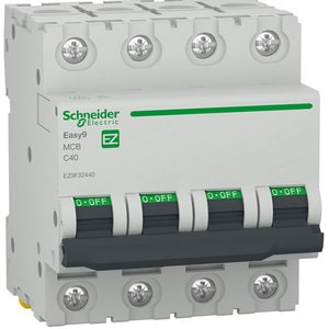 Siguranta automata modulara SCHNEIDER EZ9F32440, 4P, 40A, curba C
