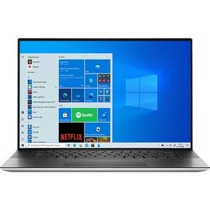 "Laptop DELL XPS 17 9710, Intel Core i7-11800H pana la 4.6GHz, 15.6"" UHD+ Touch, 32GB, SSD 1TB, NVIDIA GeForce RTX 3060 6GB, Windows 10 Pro, argintiu"