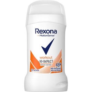 Deodorant stick REXONA Workout, pentru femei, 40ml