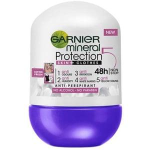 Deodorant roll-on GARNIER Mineral Protection 6 Cotton Fresh, 50ml