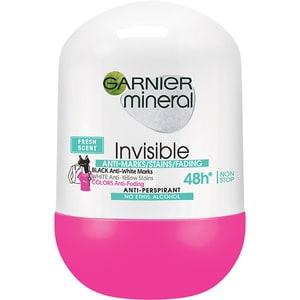 Deodorant roll-on GARNIER Mineral Invisible Fresh, 50ml