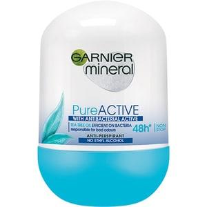 Deodorant roll-on GARNIER Mineral Pure Active, 50ml