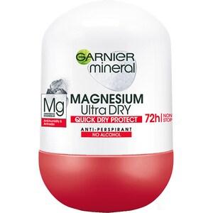 Deodorant roll-on GARNIER Mineral Magnesium Ultra Dry, 50ml