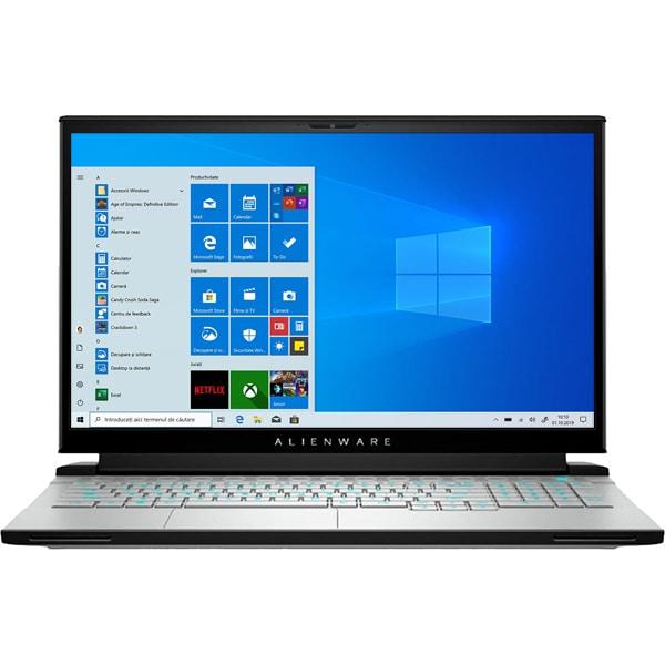 "Laptop Gaming DELL Alienware M17 R4, Intel Core i7-10870H pana la 5.0GHz, 17.3"" Full HD, 32GB, SSD 1TB, NVIDIA GeForce RTX 3070 8GB, Windows 10 Pro , gri"