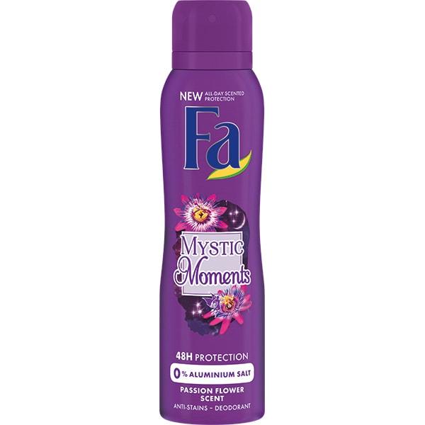 Deodorant spray FA Mystic Moments, pentru femei, 150ml