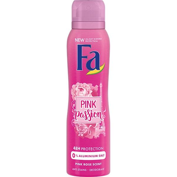 Deodorant spray FA Pink Passion, pentru femei, 150ml