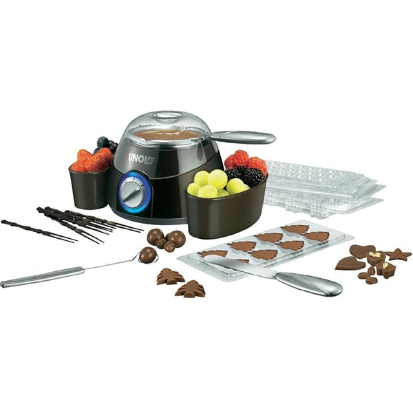 Fantana pentru ciocolata PRINCESS 129299401001, 32W, negru-argintiu