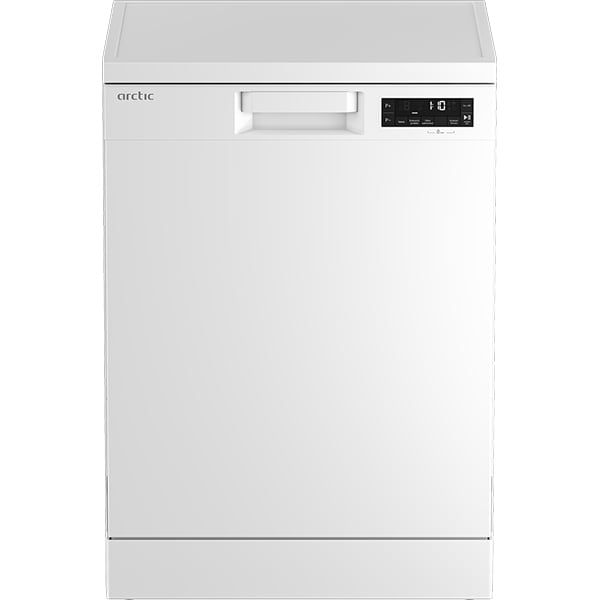 Masina de spalat vase independenta ARCTIC DFN363, 14 seturi, 16 programe, 60 cm, Clasa D, alb