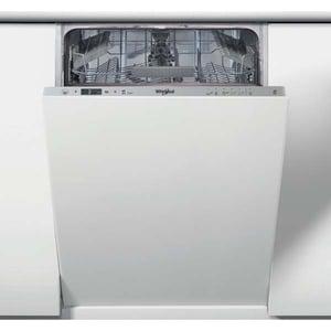Masina de spalat vase incorporabila WHIRLPOOL WSIC 3M17, 10 seturi, 6 programe, 45 cm, clasa A+