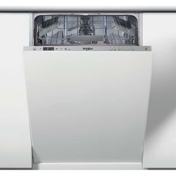 Masina de spalat vase incorporabila WHIRLPOOL WSIC 3M17, 10 seturi, 6 programe, 45 cm, Clasa F, inox