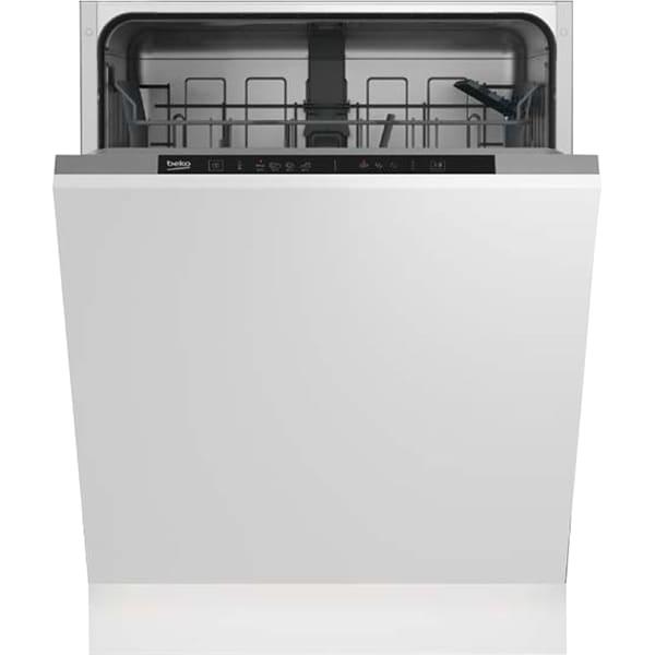 Masina de spalat vase incorporabila BEKO DIN34320, 13 seturi, 4 programe, 60 cm, Clasa E, alb