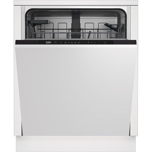 Masina de spalat vase incorporabila BEKO DIN36421, 14 seturi, 6 programe, 60 cm, Clasa E, negru