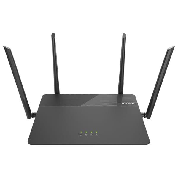 Router Wireless Gigabit D-LINK DIR-878 AC1900, Dual Band 600 + 1300 Mbps, negru